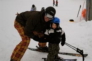 child-friendly ski house rental