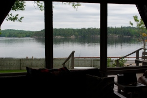 Adirondack lake front vacation rental