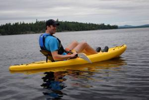 Adult kayak vacation rental Adirondacks