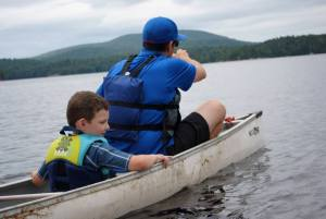 Canoe family vacation rental adirondacks tupper lake ny raquette river