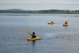 Kayaking Tupper Lake Adirondacks Raquette River Family vacation rental