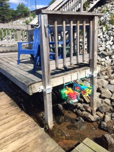 Adironack Vacation Rental Kids Docks