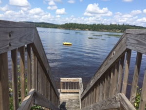 Swim Dock 1 - Wild Center Lodging